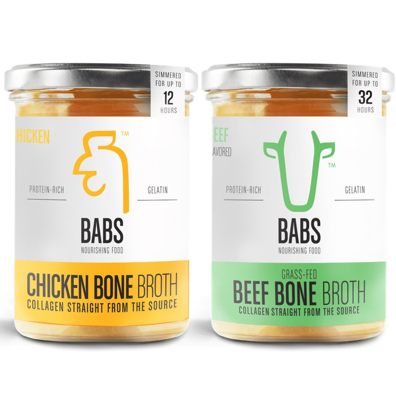 babs bone broth chicken and beef