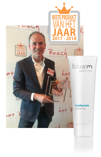 press release | blue®m toothpaste, best product of the year 2017/2018