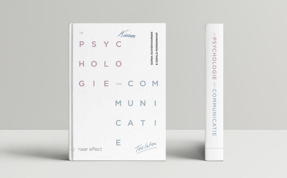 Boek Psychologie van de communicatie