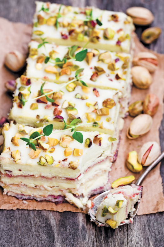 Layer Cakewithpistachios