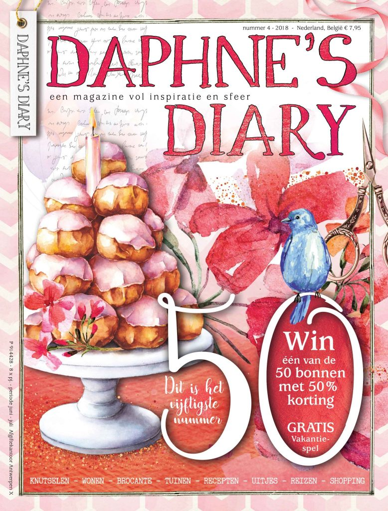 Daphne's Diary NL cover 1804