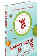 happy hour is 9 to 5 boek book