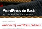 wordpress-basis
