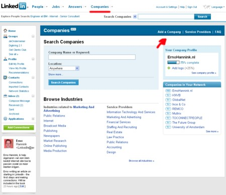 linkedin-company-profile-search