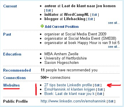 linkedin-update-links