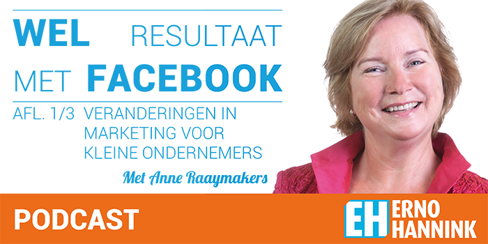 Anne Raaymakers Facebook marketing