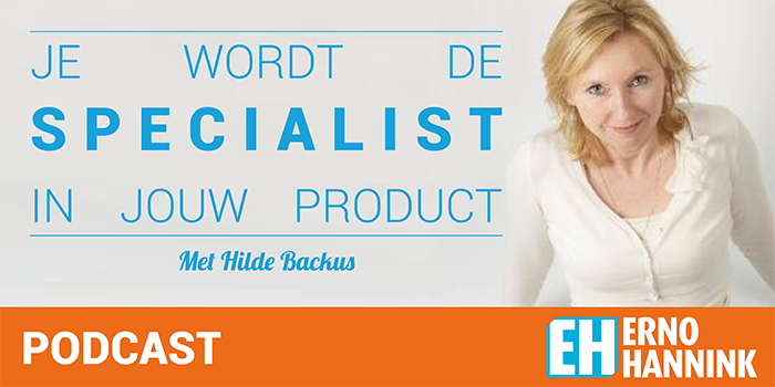 Hilde Backus podcast