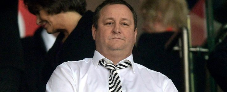 Mike Ashley roulette winst