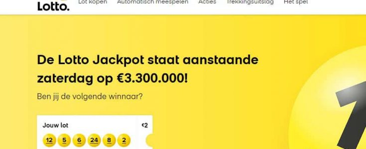 De website van Lotto