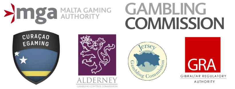 Goklicenties van Gaming Commissies over de hele wereld