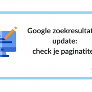 Google zoekresultaten-update: check je paginatitels