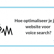 Hoe optimaliseer je jouw website voor voice search?