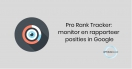 ProRankTracker: monitor en rapporteer posities in Google