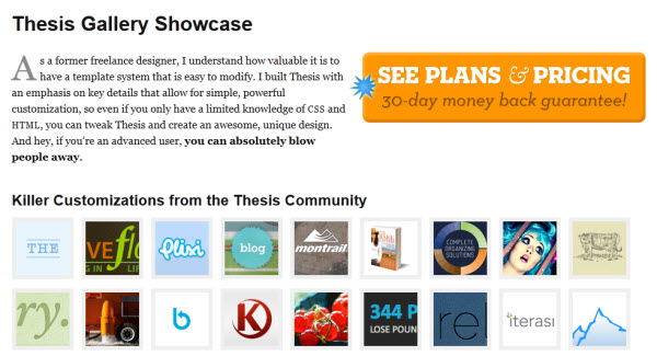 thesis themes for wordpress