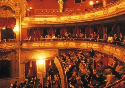 Theaters en podium­kunsten